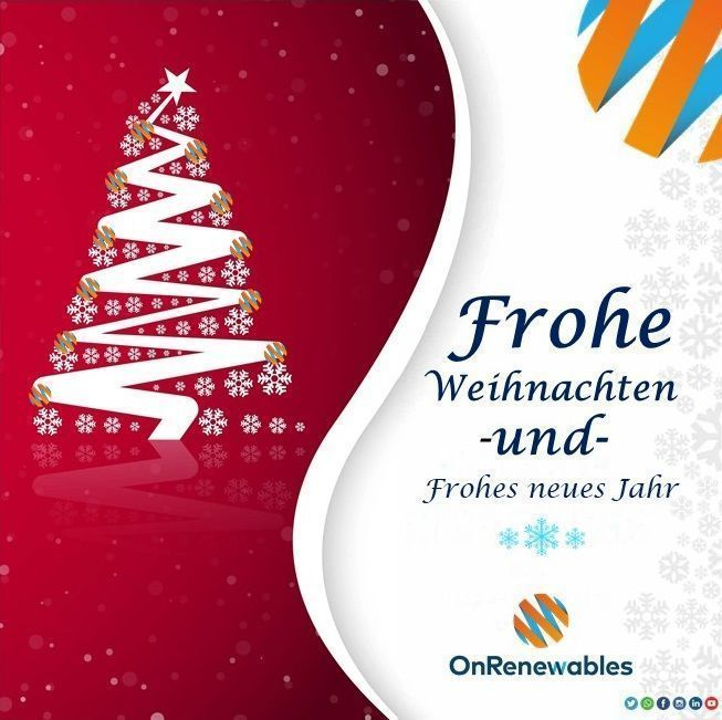 Frohe Weihnachten Und.Frohe Weihnachten Und Frohes Neues Jahr Onrenewables