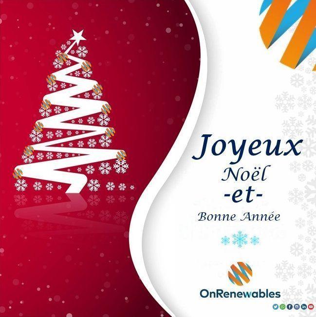 Feliz Navidad Joyeux Noel 2019.Joyeux Noel Et Bonne Annee Onrenewables